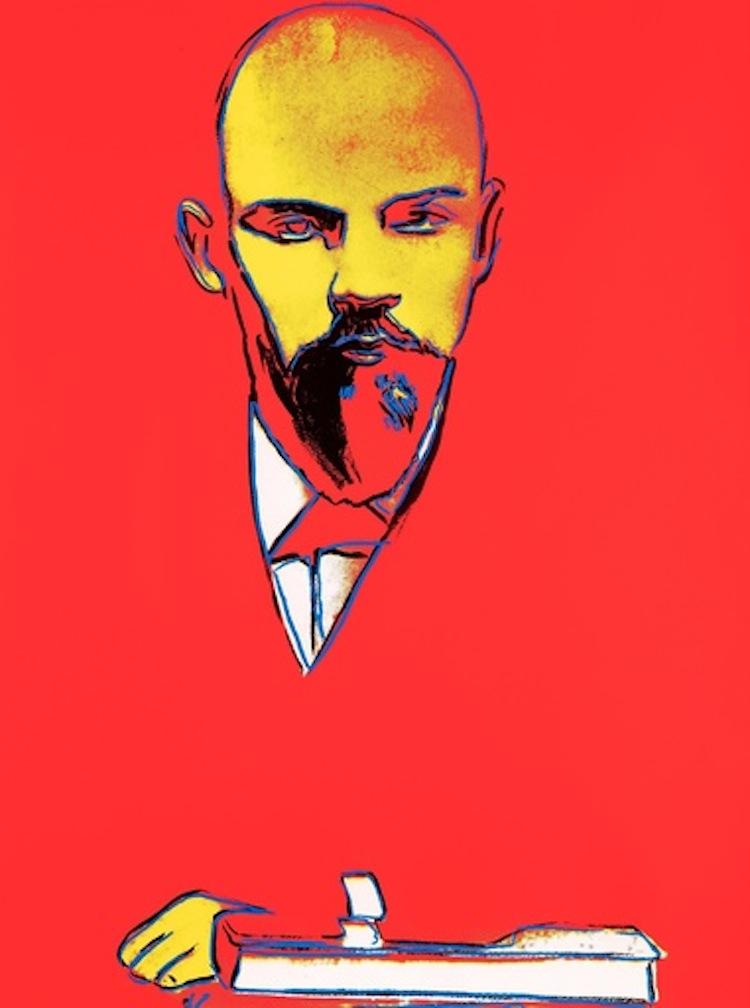 """""""Red Lenin"""" från 1987 ropas ut för 80-120 000 dollar hos Paddle8"""