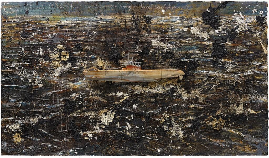 Anselm Kiefer's Velimir Khlebnikov For; The doctrine of War; Battles, (2004-2010) Image: Courtsey of Phillips / Phillips.com