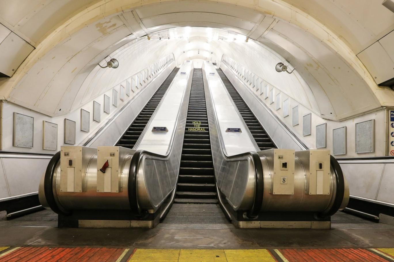 Disused Charing Cross Tube station which will be one of the 10 locations for Art Night. Image via the Guardian