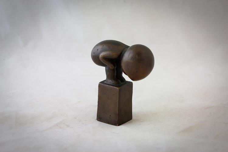"""LISA LARSON (f.1931), bronsskulptur, """"Myran"""" Utrop: 8000 SEK Auktionsbyrån Effecta"""