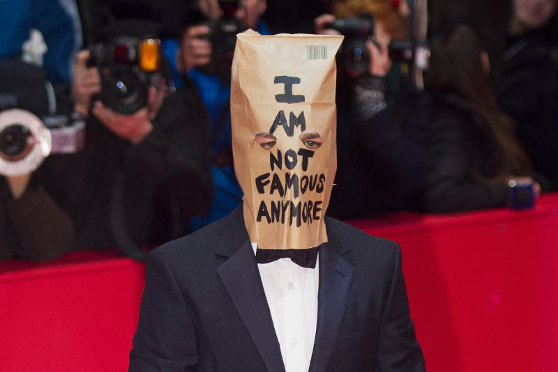 Shia LaBeouf under premiären av Nymphomaniac Foto: The Independent