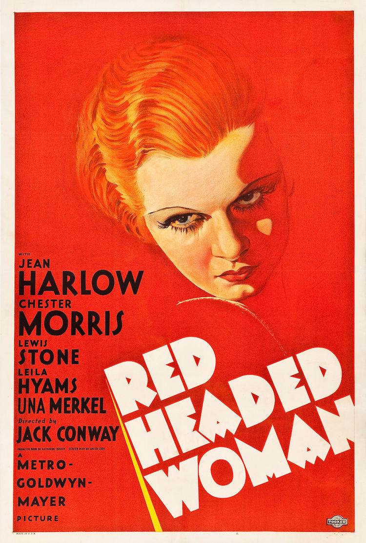 Red Headed Woman (1932) Bild via thehistoryblog.com