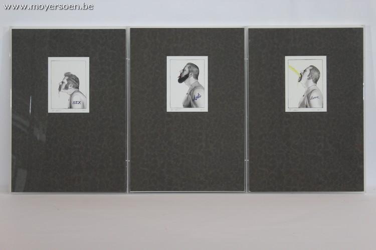 JAN FABRE - Grafisches Triptychon, nummeriert und handsigniert Startpreis: 1.200 EUR