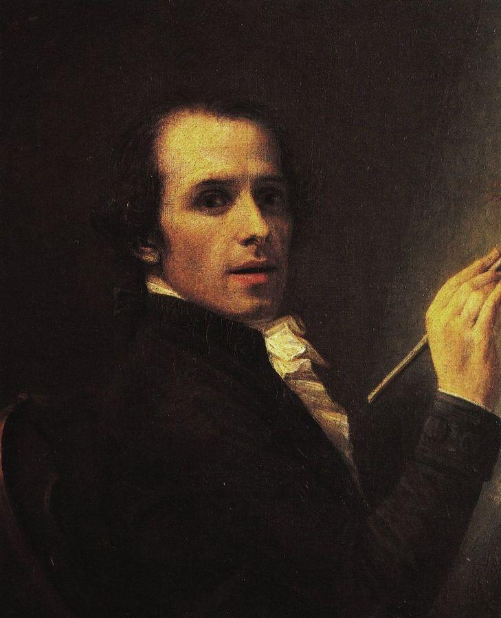 Antonio Canova, Selbstportrait, 1792 | Foto via Wikipedia