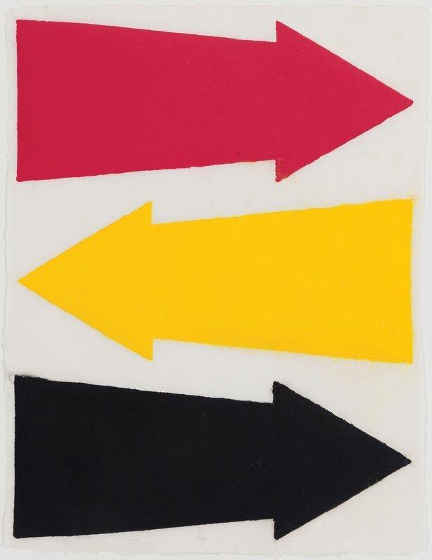 James Siena, Three Directions, 2013.