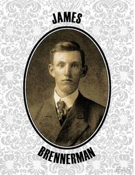 Une photo de Brennerman tirée du dossier, Courtesy of the Art Newspaper