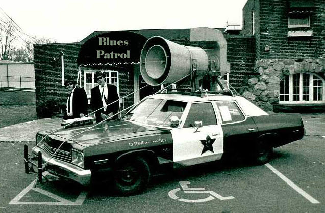 The original Bluesmobile in 'Blues Brothers'