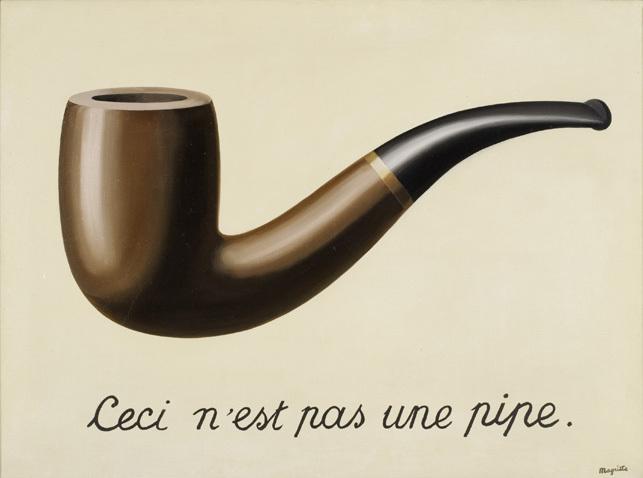 René Magritte, La trahison des images, 1928   Foto: MoMA
