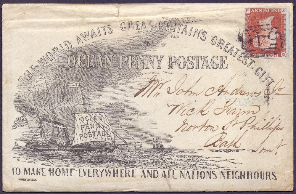 Great Britain Postal History. Photo: Martello Philatelic Auctions