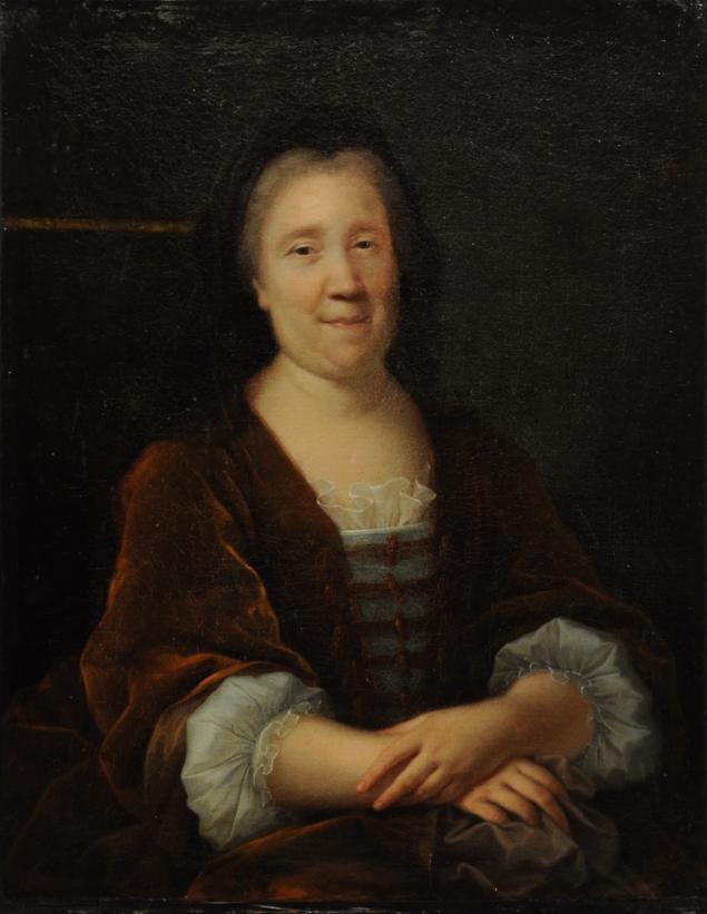 École FRANÇAISE vers 1720. Entourage d'Alexis Simon BELLE (1674-1734) Portrait de femme Rouillac