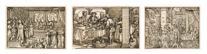 MARX RUMPOLT Ein new Kochbuch..., 149 Textholzschnittte, Frankfurt am Main 1581