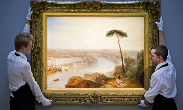 Turner Rome, From Mount Aventine Sotheby's