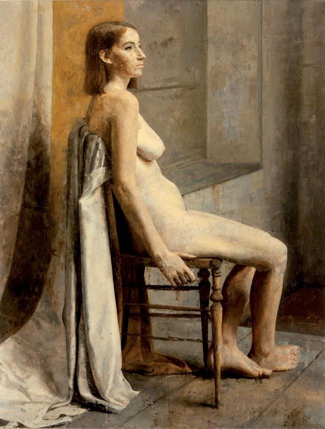 Objekt 160:Antonio Lopez Garcia (1936). Academia. Olja. Startpris: 2,3 miljoner kronor.