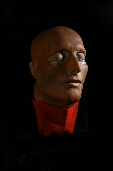 Le masque mortuaire en cire de Napoléon Ier sera vendu aux enchères à Drouot à Paris le 7 novembre Image via Coutau-Bégarie
