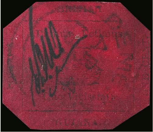 black magenta 1 cent