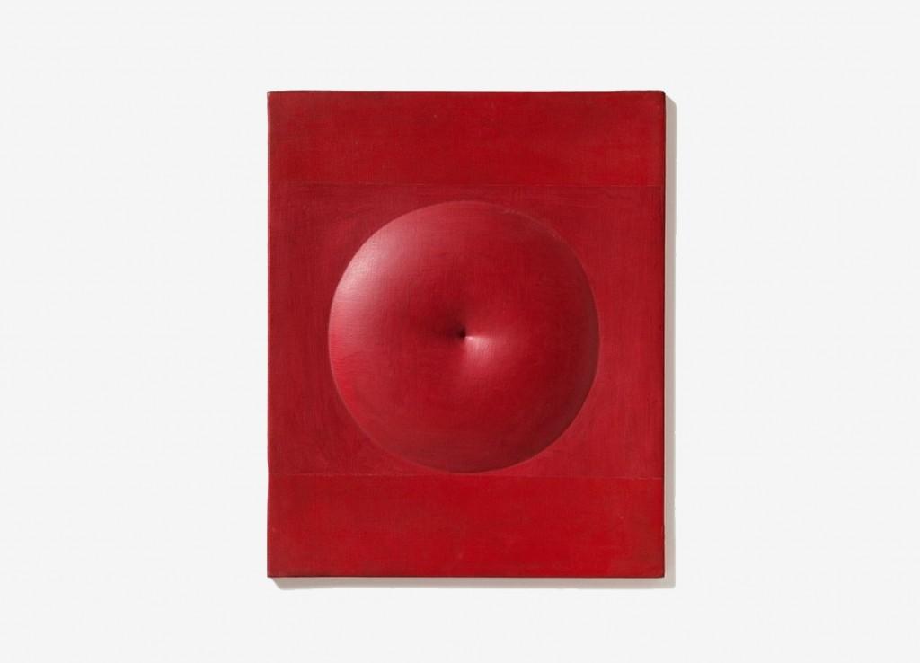 Agostino Bonalumi,« Rosso», 1971, image ©Lempertz