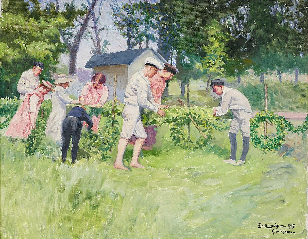 Emil Lindgren, Midsommar