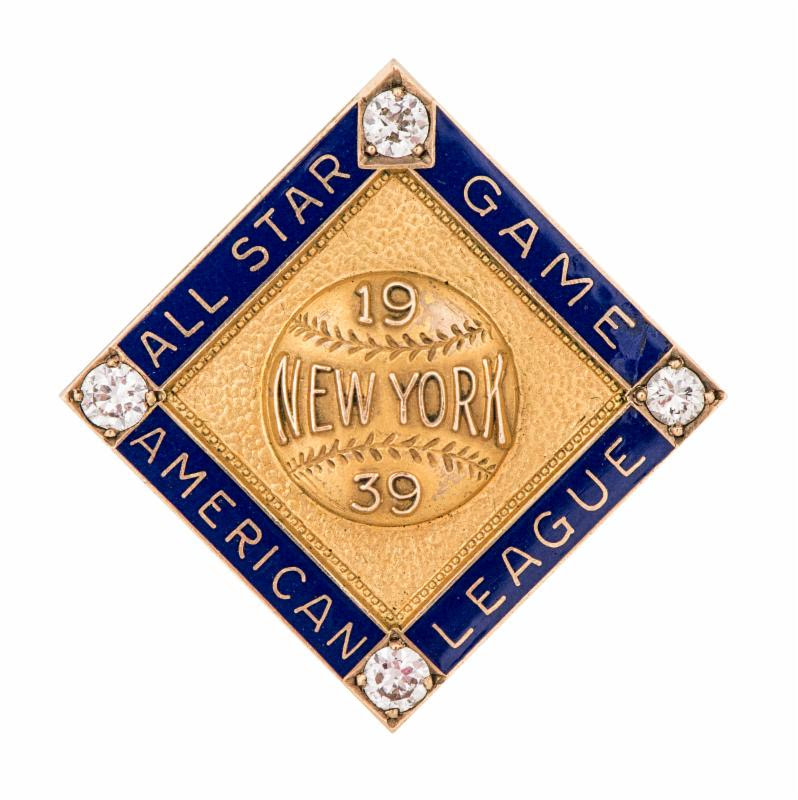 Lou Gehrig All Star pin