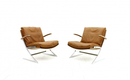 """Pair of Preben Fabricius """"Lobby"""" Chairs by Arnold Exklusiv Inside Room"""