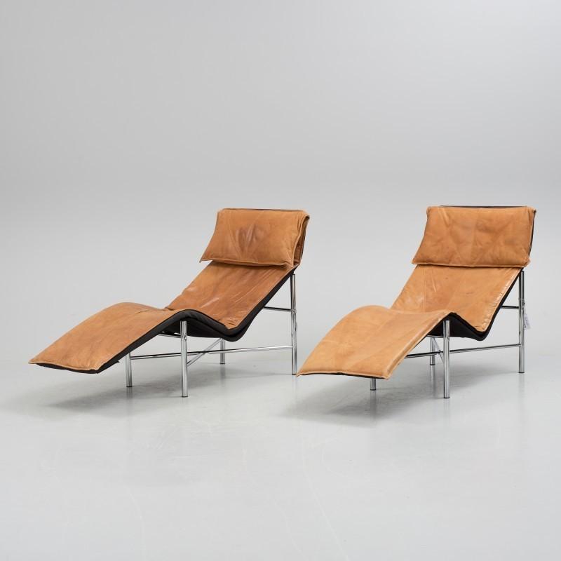 """Paire de fauteuils """"Skye"""" , design par Tord Björklund pour IKEA, années 1980 Adjugée 510 EUR le 20 septembre 2016 par Bukowskis"""