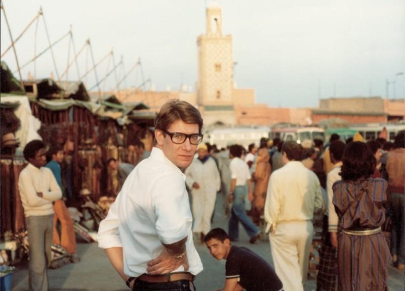 Yves Saint Laurent à Marrakech, image via pelagica.org