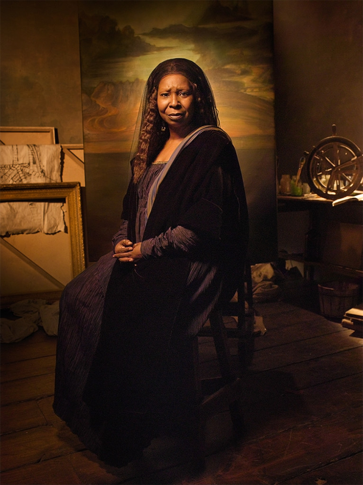 Whoopi Goldberg As Da Vinci S Mona Lisa Blog Barnebys Com