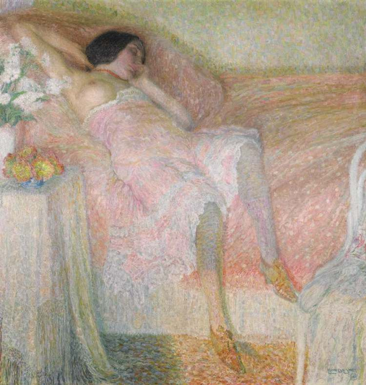 Léon de Smet Roze Harmonie Sotheby's