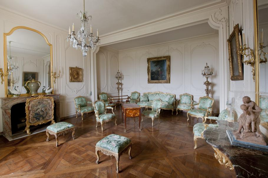Les appartements de madame du Barry à Versailles, image © Château de Versailles