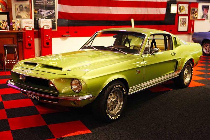 Shelby Cobra - GT500 KR - 1968 Schätzpreis: 200.000-260.000 EUR Auktionsende: 9. Dezember, 20 Uhr