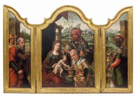Pieter I Coecke Van Aelst (Aalst 1502 - Bruxelles 1550)