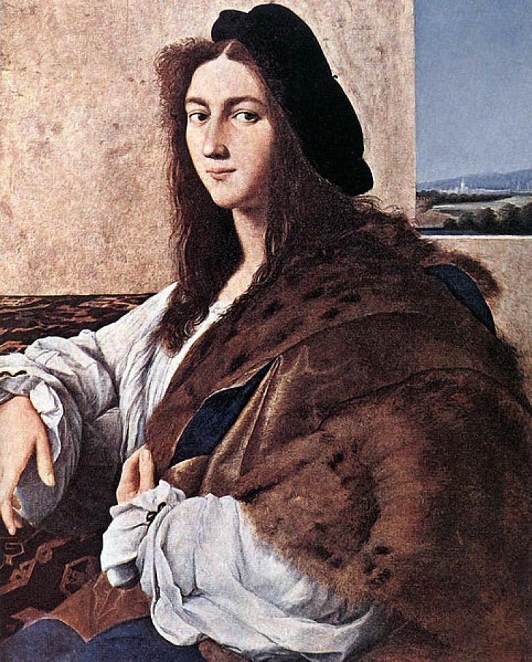 Raphael, Portrait d'un jeune homme, 1514, huile sur panneau