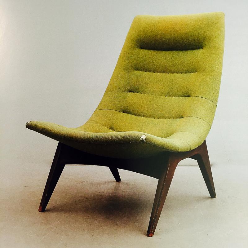 Svante Skogh, 1954, nr 775, fåtölj. Bild: Svenska möbler av Andreas Siesing