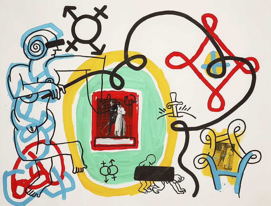 Keith Haring, « Freud Drawings », image ©Tajan