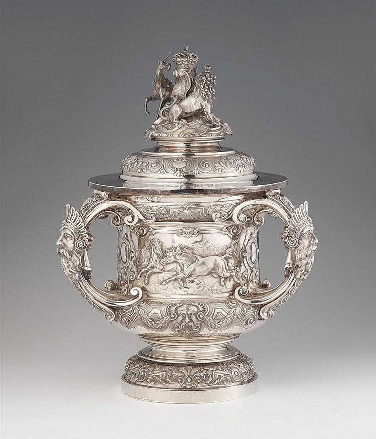 Trophée Ascot de 1883, argent, Londres, R & S Garrard, 1882