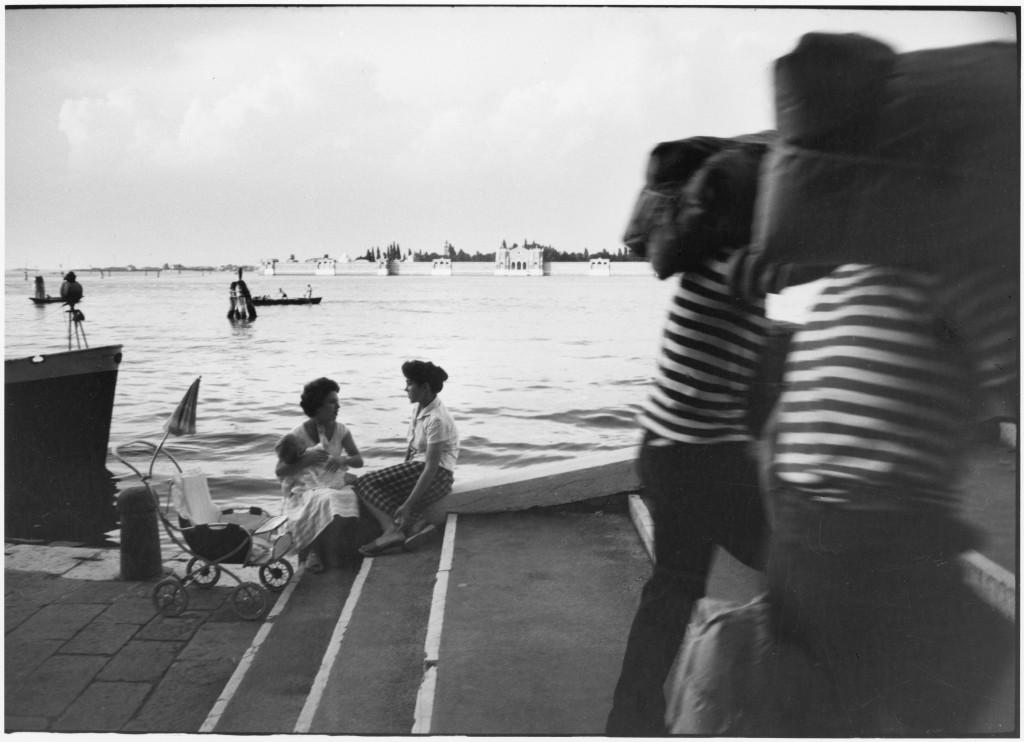 """""""Fondamente Nuove, Venise, 1959"""", Willy Ronis, Ministère de la Culture / Médiathèque de l'architecture et du patrimoine /Dist RMN-GP © Donation Willy Ronis"""