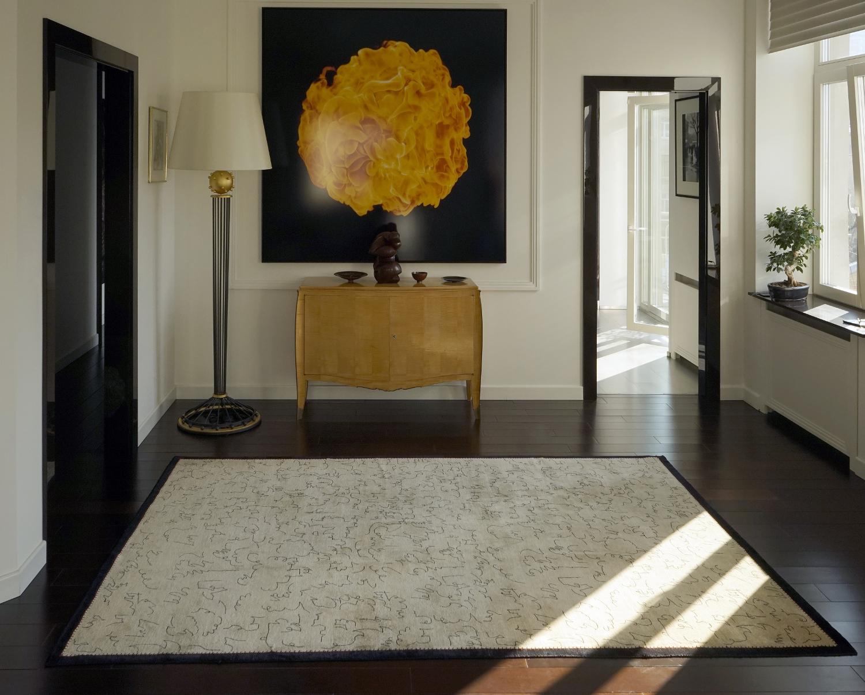 Boccara carpet made of natural silk