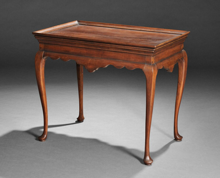 Queen Anne Cherry Tea Table, Connecticut, mid-18th century (Lot 350, Estimate $50,000-$75,000)