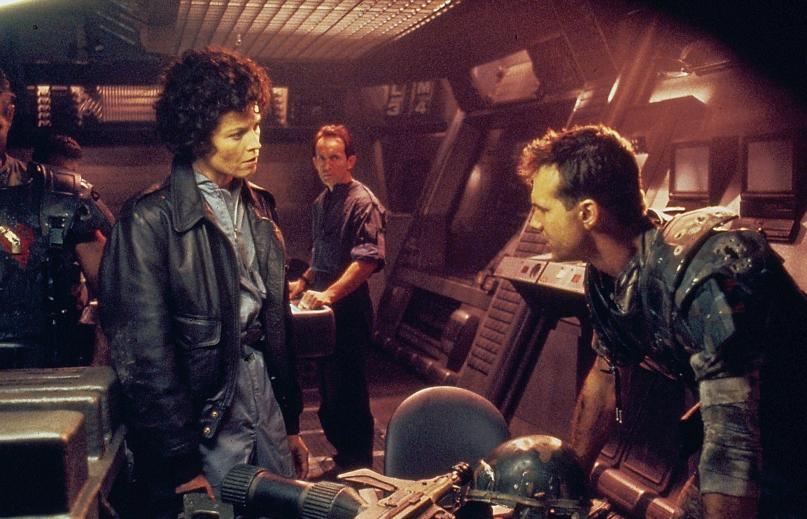 Sigourney Weaver as Ellen Ripley in 'Alien'