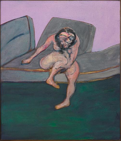 """Francis Bacon Seated Woman (Portrait of Muriel Belcher)"""", 1961 Prix réalisé: $28,165,000"""
