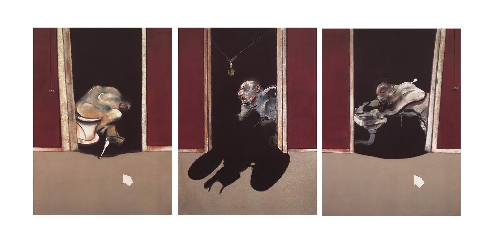 Francis Bacon, 'Triptych May-June, 1973', 1973. Photo: The Paris Review