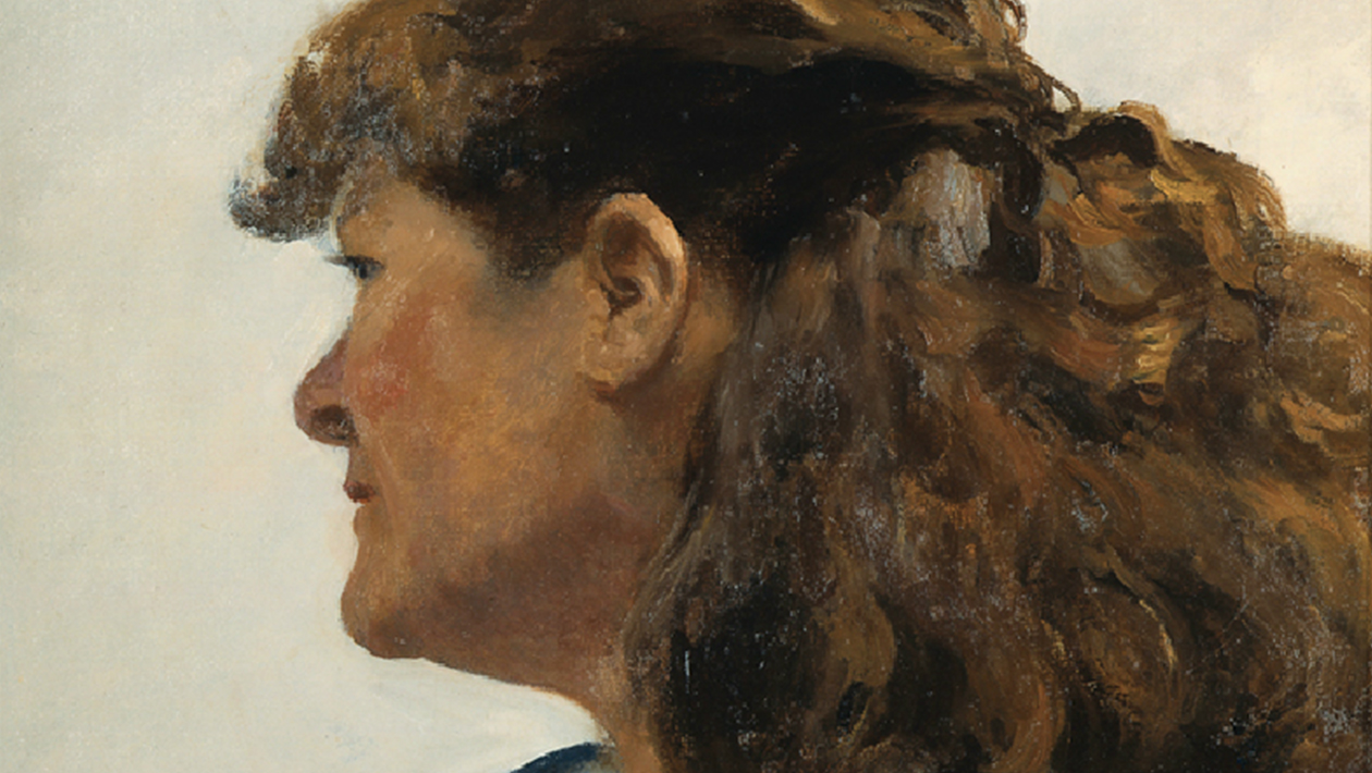 Edward Hopper, « Jo Painting », 1936, image ©Whitney Museum of American Art