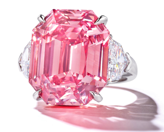 The Pink Legacy. Bild Christie's.
