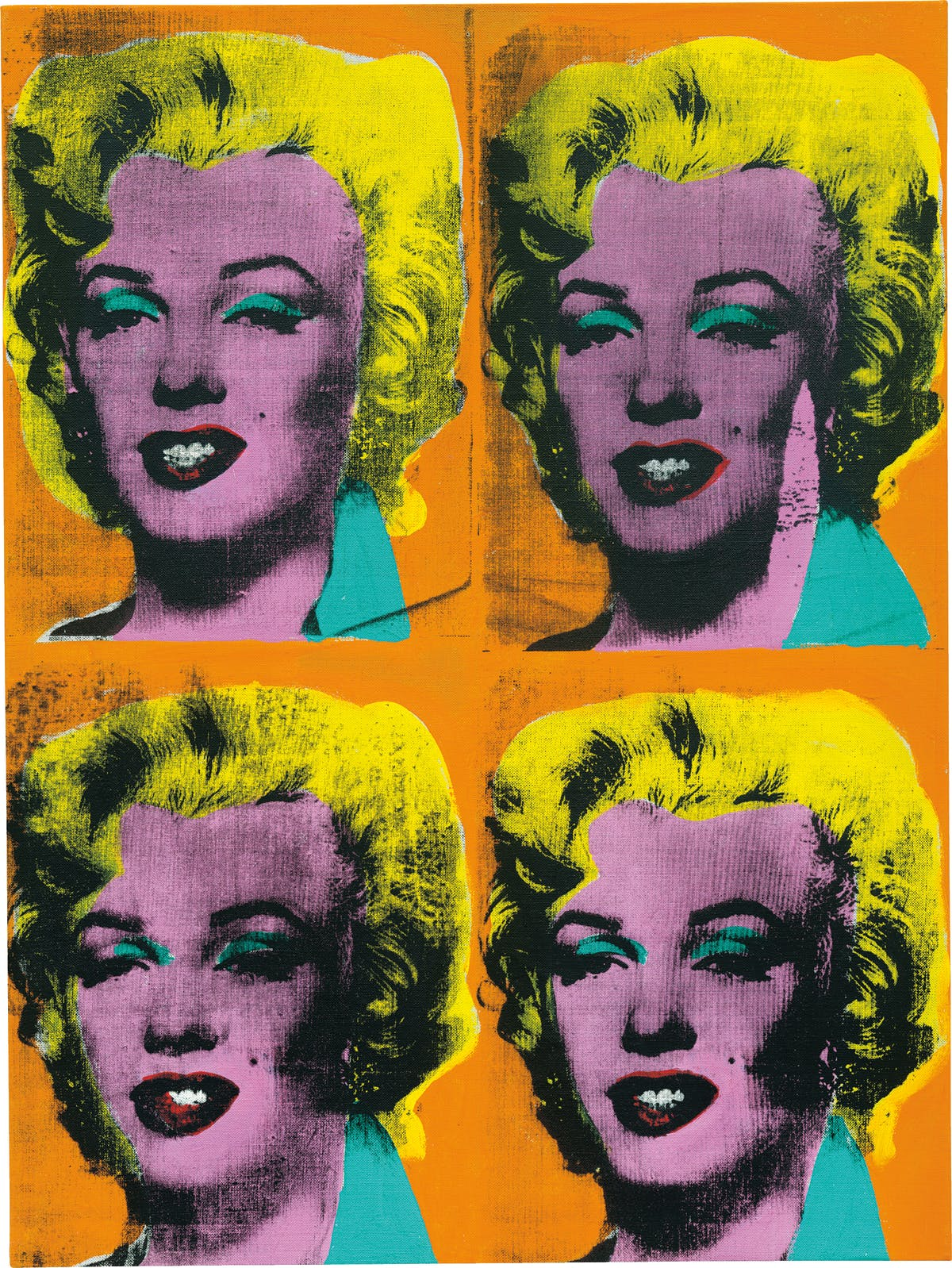 Andy Warhol, Four Marilyns, 1962 | Abb.: Christie's