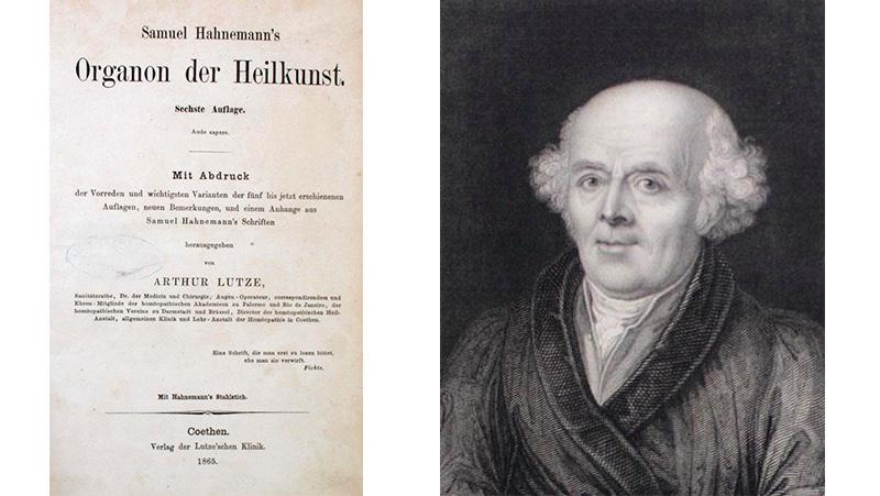 A. Lutze, Samuel Hahnemann's Organon der Heilkunst. 6. Auflage, Köthen, Verlag der Lutze'schen Klinik 1865