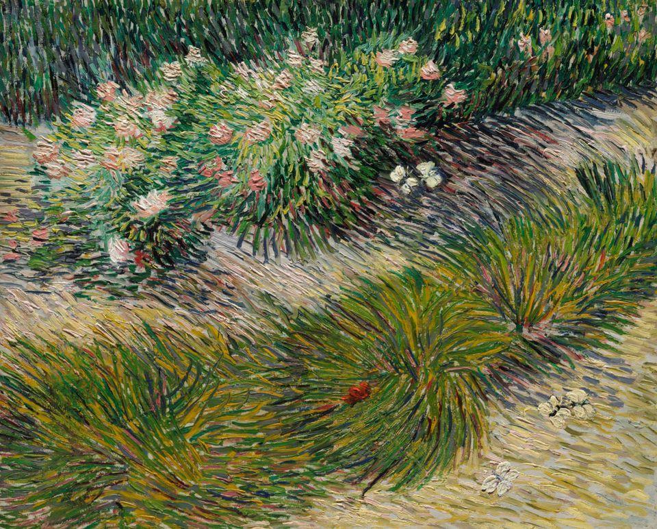 Vincent Van Gogh, « Coin de jardin avec papillons », image ©Christie's
