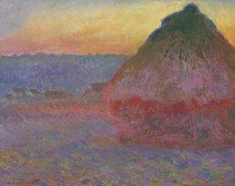 "Claude Monets rekordmålning, ""Meule"" från 1891 Credit: Christie's Images Ltd"