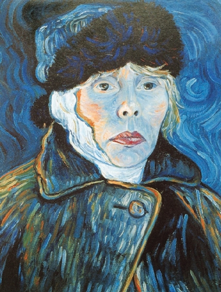 Joni Mitchell - Turbulent Indigo, 1995 - Ein Selbstportrait im Stil Vincent van Goghs