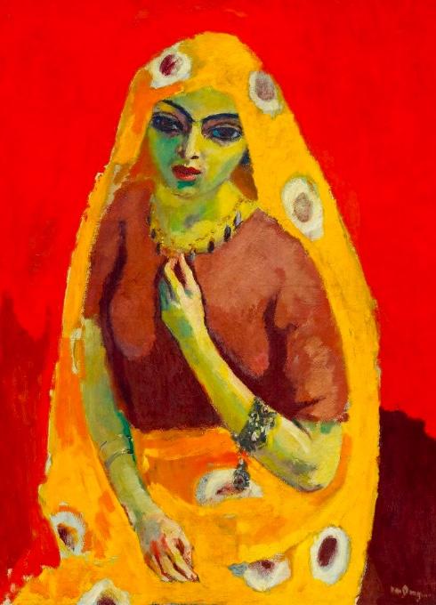 Kees Van Dongen, « Rouge et Jaune (L'Égyptienne) », 1910-1911, image ©Koller