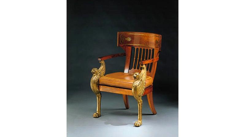 Georges Jacob (attr.) - Schreibtischstuhl im Empire-Stil Foto: Christie's