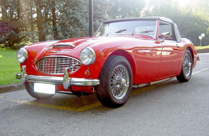 Austin Healey , 3000 MK1, 1959. Utropspris: 554 000 - 720 000 kronor.